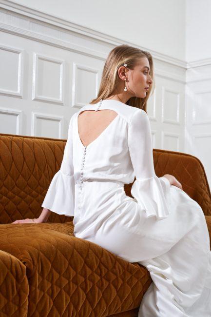 Artemis - Marisa minimal wedding dress open back