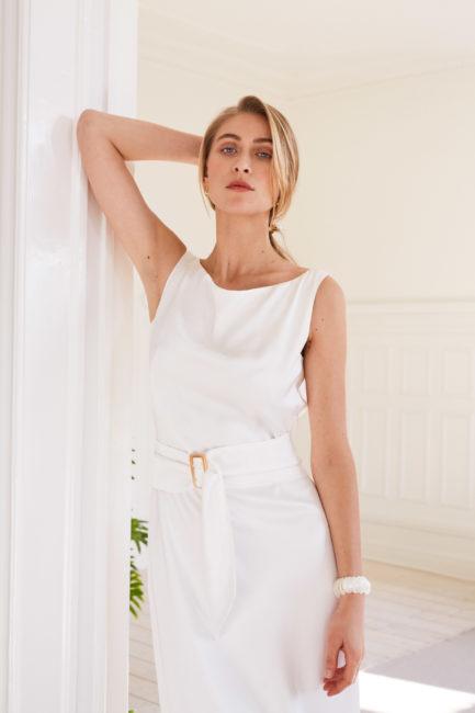 Amber - Minimalist wedding gown